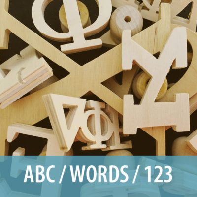 ABC / Words / 123